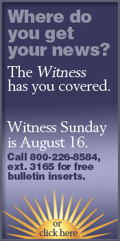 Witness Sunday is August 16, 2009
